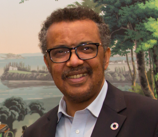 Tedros Adhanom Ghebreyesus, M. Jacobson - Gonzalez - ITU Pictures from Geneva, Switzerland - https://www.flickr.com/photos/itupictures/36433272494, Wikipedia CC BY 2.0