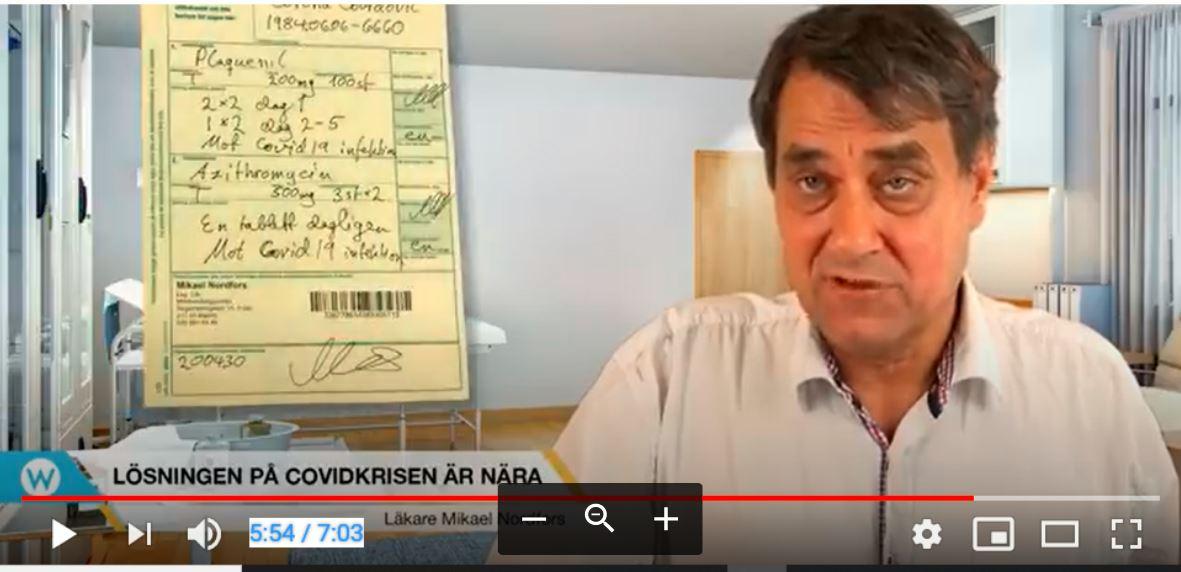 Mikael Nordfors om lösningen på Coronakrisen