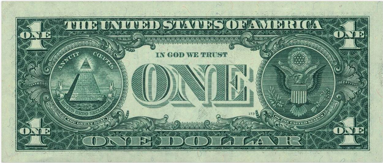 en dollarsedel