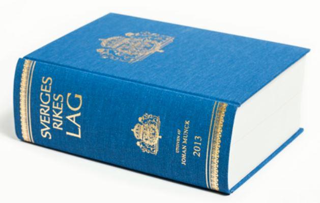 Sveriges Rikes Lag 2013 - bok