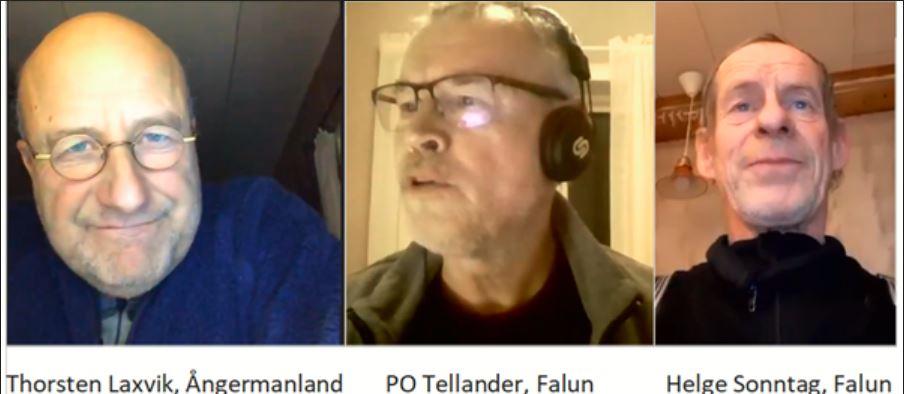 T Laxvik, P O Tellander, H Sonntag